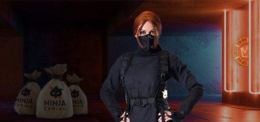 Ninja Casino aarded - saa iga päev sissemakse eest tasuta spinne
