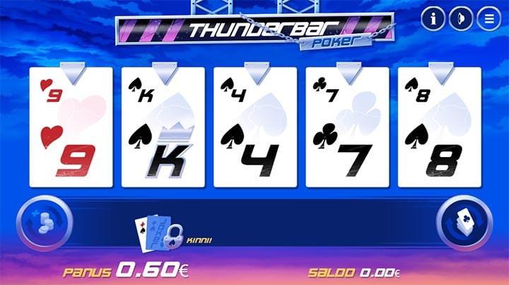 Paf Thunderbar Poker