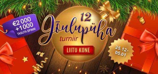GrandX Casino 12-päevane jõulupühade turniir