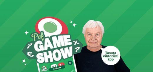 Paf Game Show viktoriin