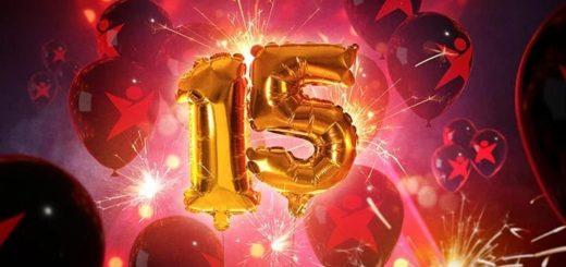 Betsafe 15. sünnipäev - iga nädal uued kasiino ja spordiennustuse pakkumised