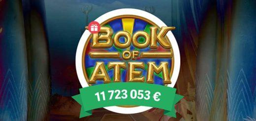 Book of Atem Wowpot jackpot slotika tasuta spinnid Paf kasiinos