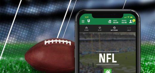NFL 2021 (Ameerika Jalgpalli) tasuta ennustusmäng Unibet'is