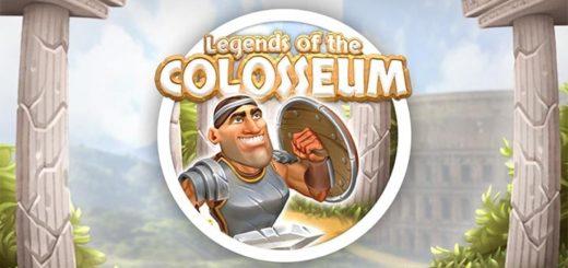 Paf kasiino eksklusiivmängu Legends of the Colosseum tasuta spinnid