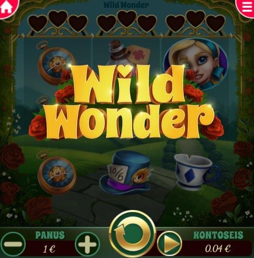 Võta igal kolmapäeval Wild Wonder minimängus 50 tasuta spinni