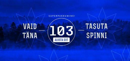 Eesti Vabariigi 103. aastapäeva tasuta spinnid GrandX kasiinos