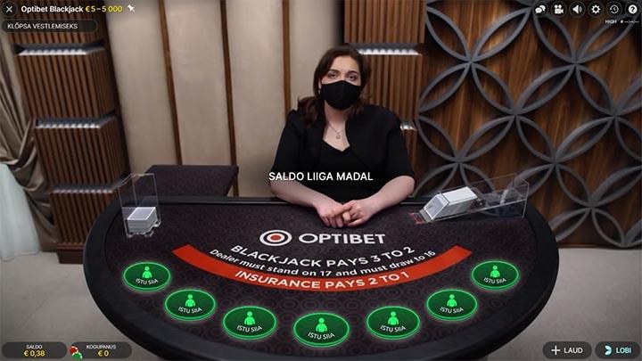 Optibet Blackjack
