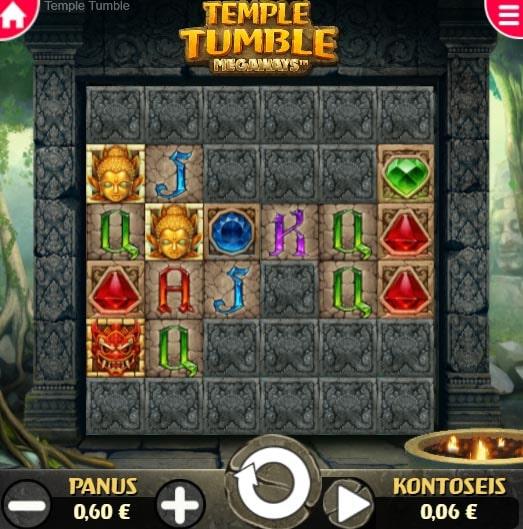 Temple Tumble Megaways minimäng