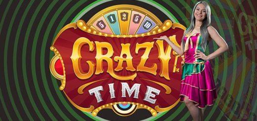 Unibet live kasiino Crazy Time boonus