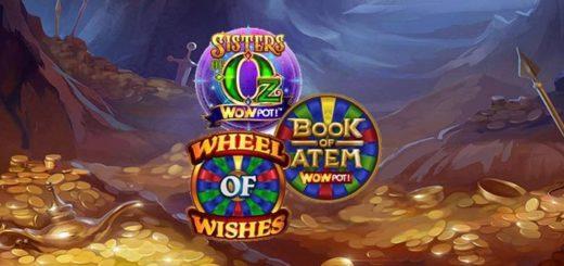 Chanz Casino Wowpot jackpot mängude raha ja teleri loos