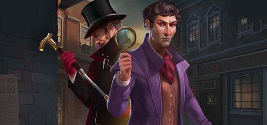 Paf kasiinos Sherlock & Moriarty WowPot jackpot slotika tasuta spinnid