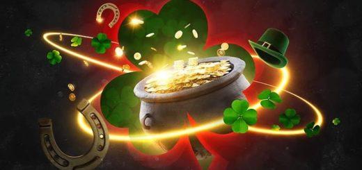 Püha Patricku päeva õnnespinn Betsafe kasiinos - tasuta spinnid & cashback