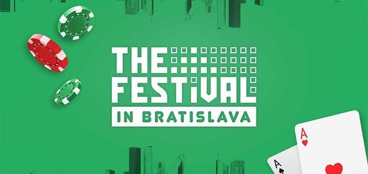 Mängi Paf'is Blackjacki ja võida The Festival in Bratislava live pakett