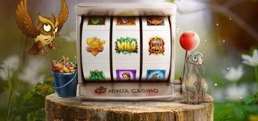 Ninja Casino kevadine festival - saa 645 pärisraha võitudega tasuta spinni