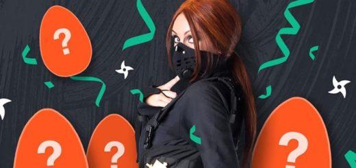Ninja Casino lihavõtted 2021 aardejaht - saa tasuta spinne & superkeerutusi