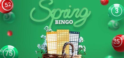 Paf kevadbingo - tasuta bingopiletite loos ja suurendatud auhinnafondid