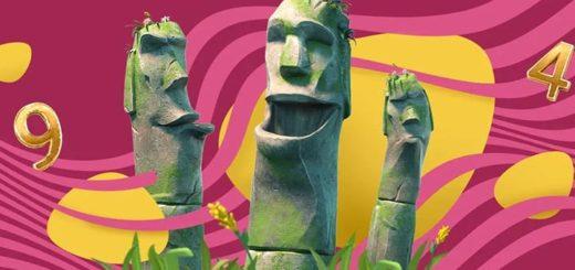 Slots.io nädalamängu Easter Island tasuta spinnid