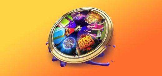 SuperCasino kaleidoskoop - täida ülesandeid ja saad iga päev värvikaid boonuseid & tasuta spinne
