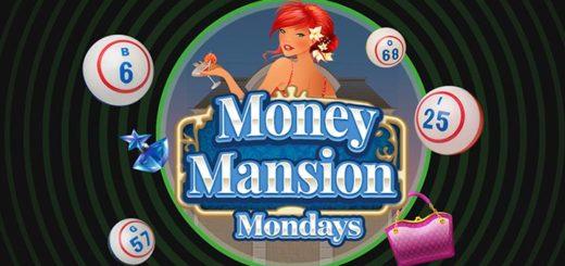 Unibet Money Mansion minimängu tasuta spinnid igal esmaspäeval