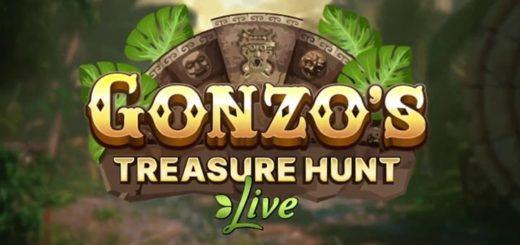Gonzo's Treasure Hunt Live mängushow ülevaade ja tutvustus