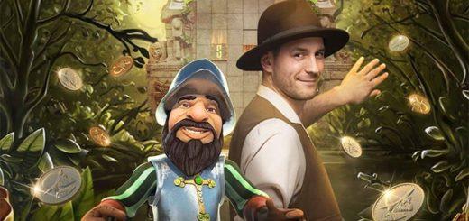 Gonzo's Treasure Hunt rahaloos Paf live kasiinos - võida kuni 500 eurot