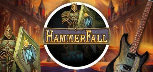 Mängi Paf kasiinos Hammerfall slotti - saad tasuta spinne ja võid võita Hammerfall autogrammiga kitarri