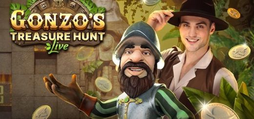 Ninja Casino annab Gonzo's Treasure Hunt live mängijatele kuni €1000 pärisraha