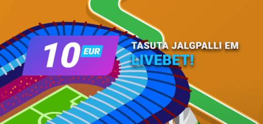 Coolbet'is saad igal Jalgpalli EM 2021 mängupäeval €10 tasuta live panuse