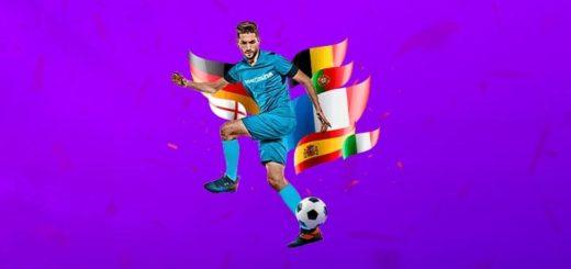Jalgpalli EM superkoefitsiendid ja tasuta spinnid SuperCasino uutele klientidele