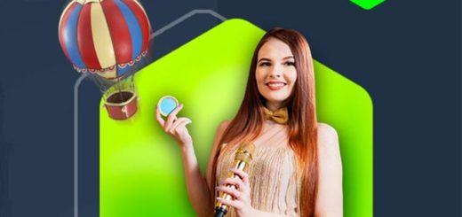 Nutz live kasiino Gameshow'de cashback - saa kuni €500 rahatagastust