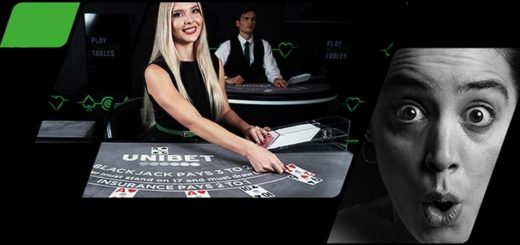 Teeni Unibet live kasiinos Blackjacki mängides Jalka EM'i ennustuseks tasuta panuseid
