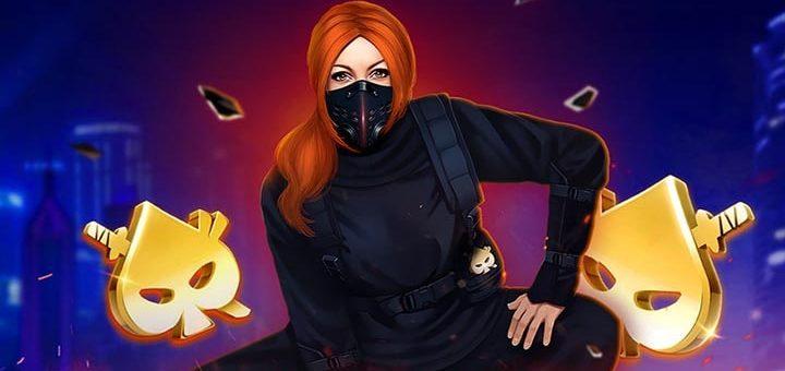 Ninja Casino eksklusiivne slotimäng Ninja Missioon toob kuni €152 boonusraha