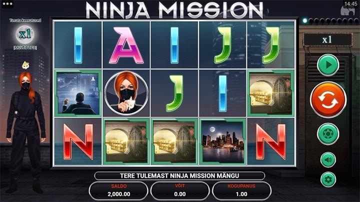 Ninja Mission slot