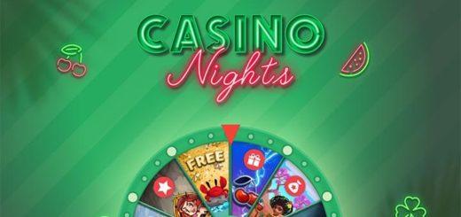 Paf Casino Nights õnneratas - keeruta ja võida erinevaid auhindu