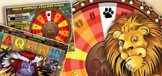 Mega Moolah jackpot mängude cashback Optibet kasiinos