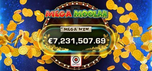 Optibet Eesti mängija võitis Mega Moolah jackpoti summas 7,2 miljonit eurot