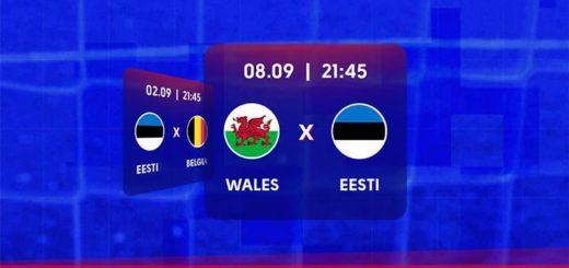 Eesti vs Wales jalgpalli MM 2022 valikmängu riskivaba panus OlyBet'is