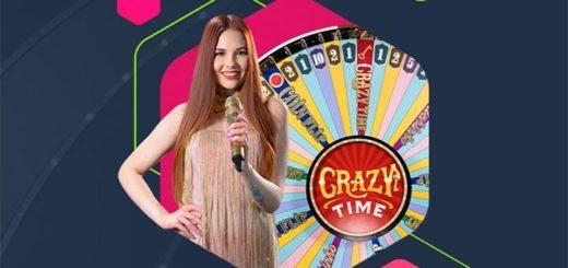 Mängi Nutz live kasiinos Crazy Time mängu 5 euroga täiesti riskivabalt