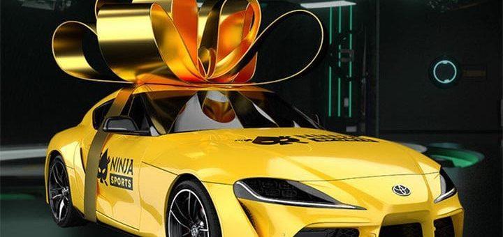 Võida Ninja Casino autoloosiga Toyota Supra