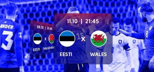 Eesti vs Wales Jalgpalli MM 2022 valikmängu riskivaba panus OlyBetis