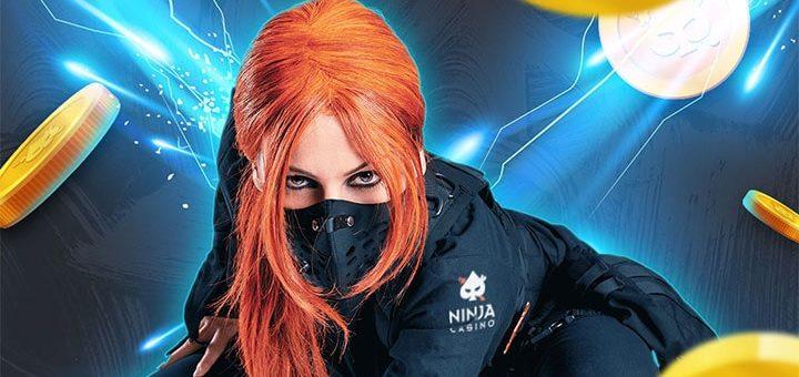 Ninja Casino aarded - võta iga päev hulgaliselt tasuta spinne
