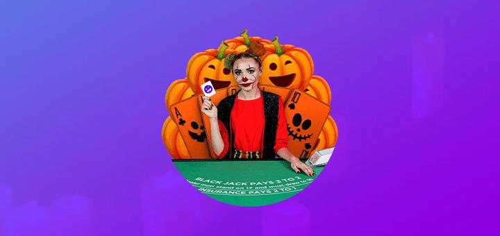 SuperCasino Halloweeni Blackjack - võida €250 live kasiino boonusraha